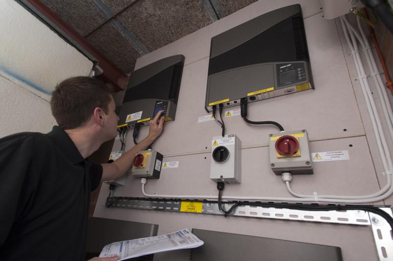 10 KW Solar PV installation to church
