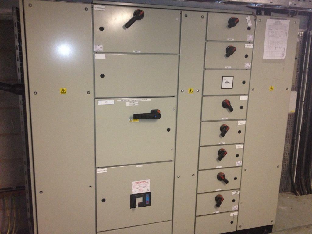 New Electrical Panel on