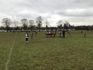 Game of childrens rugby
