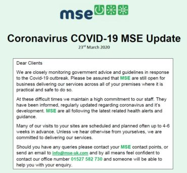 MSE COVID-19 23-03-2020